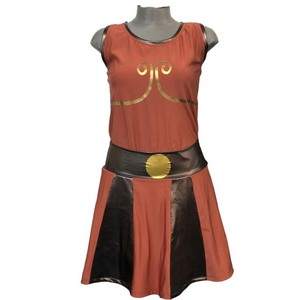 """Hercules"" Inspired Running Costume- price reduced all sales final - Rock City Skirts"