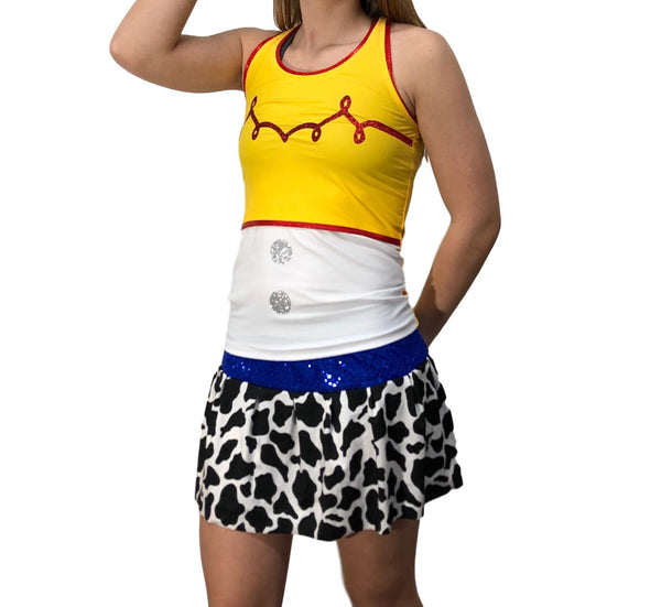 Cowgirl Shirt (With Optional Arm Sleeves) - Rock City Skirts