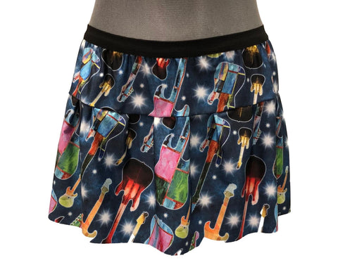 """Rock And Roll"" Guitar Skirt - Rock City Skirts"