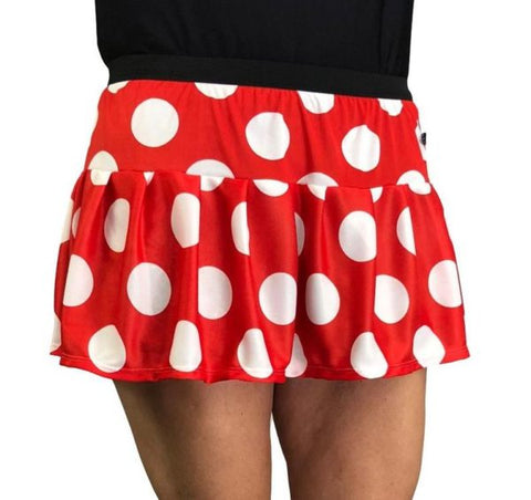 "Children's ""Minnie Mouse"" Running Skirt - Rock City Skirts"