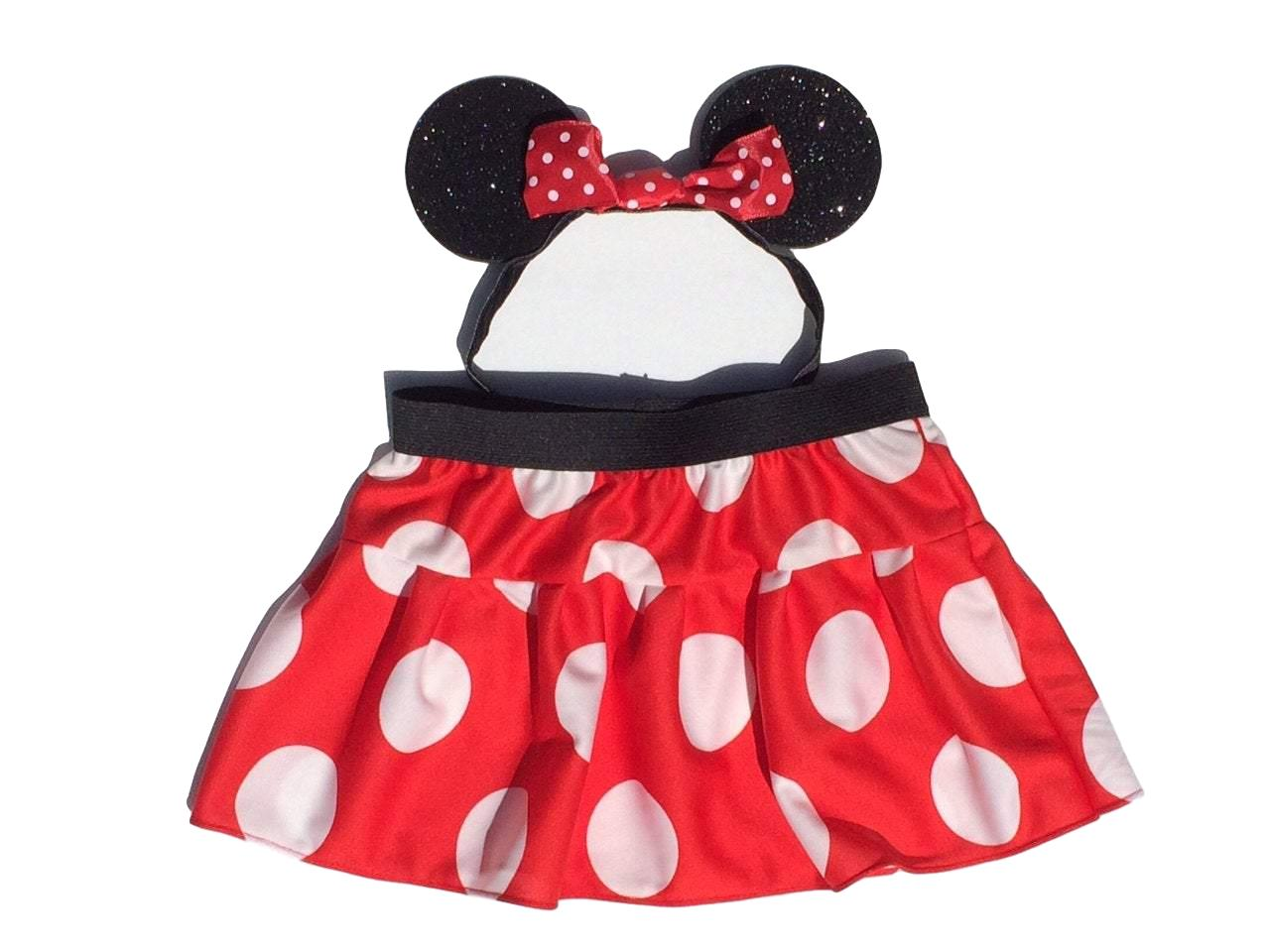 Mrs Mouse Skirt and Ears Costume - Rock City Skirts