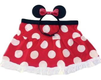 "Children's ""Minnie Mouse"" Skirt - Rock City Skirts"