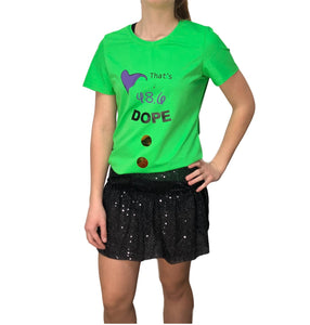 Dope Running Shirt 48.6 is DOPE - Rock City Skirts