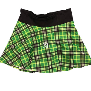 Running Skirt with Booty Shorts and front zipper pocket shirt -Sample- XL - Rock City Skirts