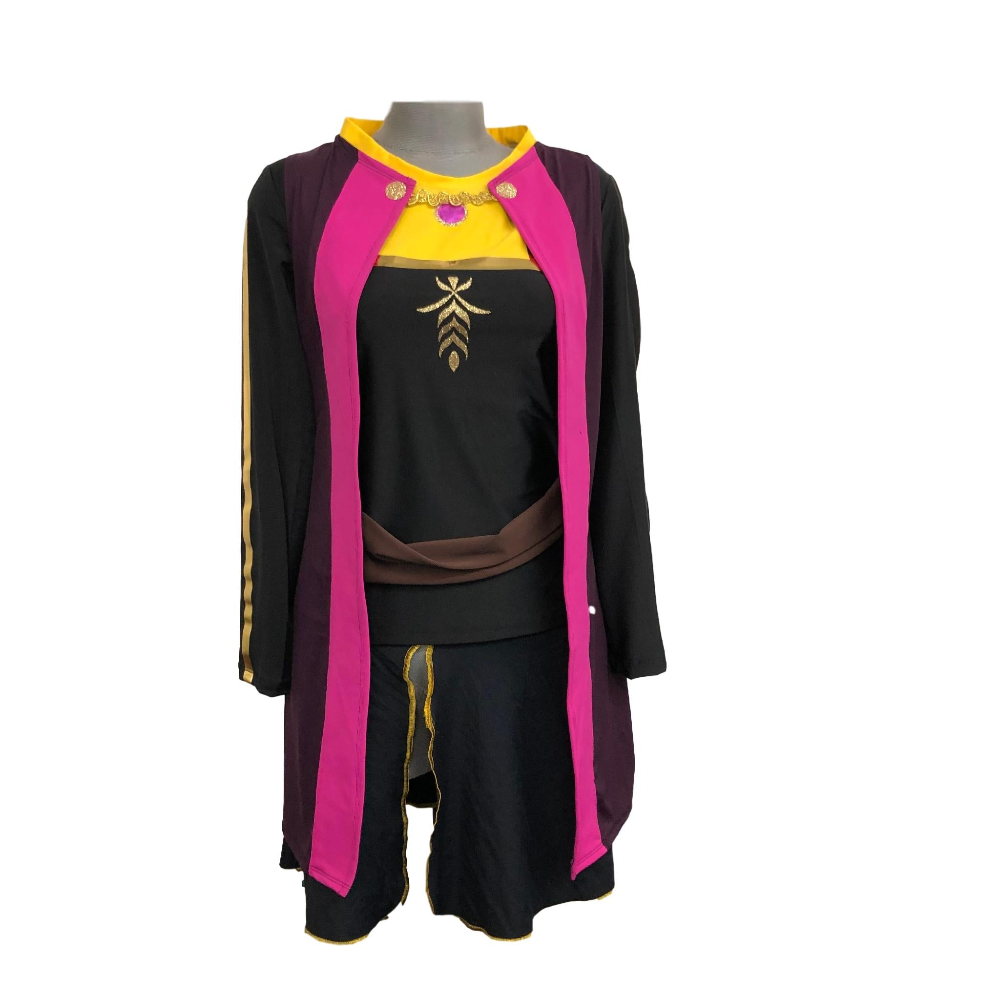 Little Sister  Anna Frozen 2 Running Costume (cape sold separately) - Rock City Skirts