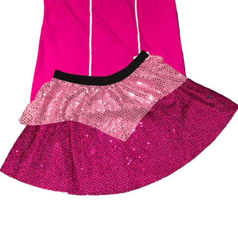 """Sleeping Beauty"" Pink Princess Running Skirt - Rock City Skirts"