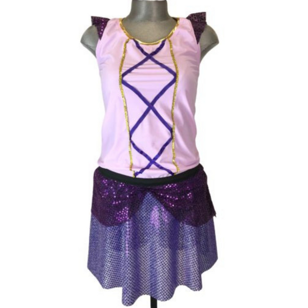 "Children's ""Rapunzel"" Inspired Costume - Rock City Skirts"