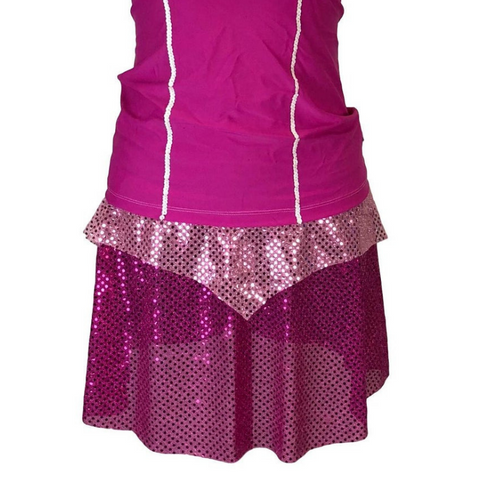 "Children's Pink Princess ""Sleeping Beauty"" Sparkle Skirt - Rock City Skirts"