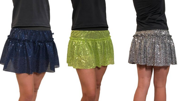 Sparkle Running Skirt - Rock City Skirts