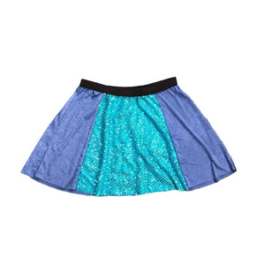 """Stitch"" Inspired Sparkle Skirt - Rock City Skirts"