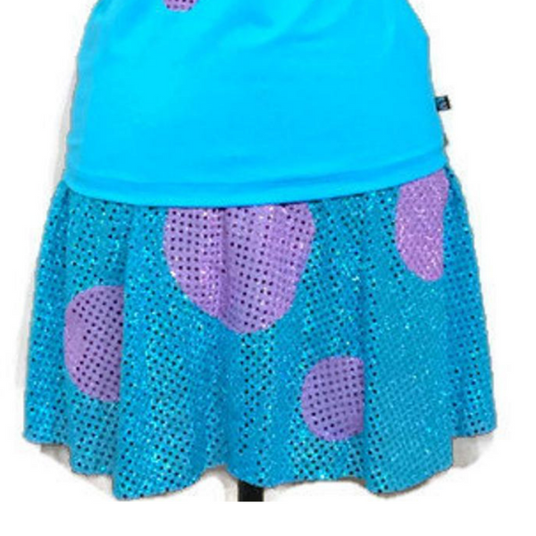 Monster Inspired Skirt - Rock City Skirts