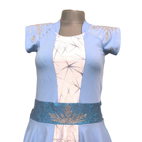 Snow Queen Inspired Costume Dress (skirt and shirt optional offering) - Rock City Skirts