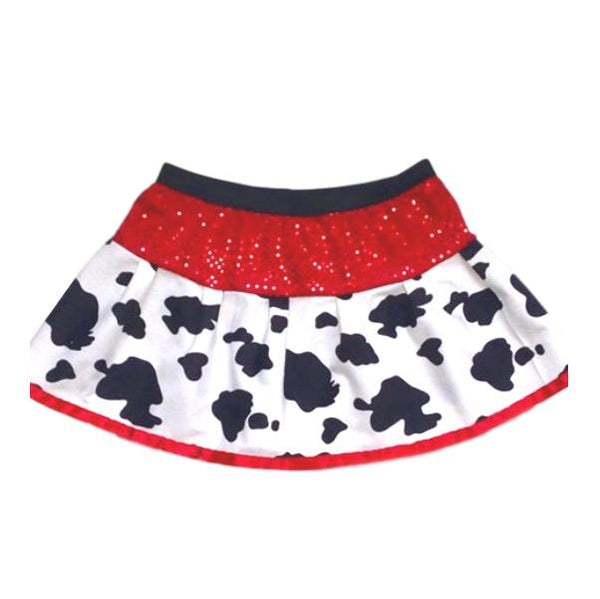 "Children's ""Jessie"" Cowgirl Skirt with Matching Trim - Rock City Skirts"