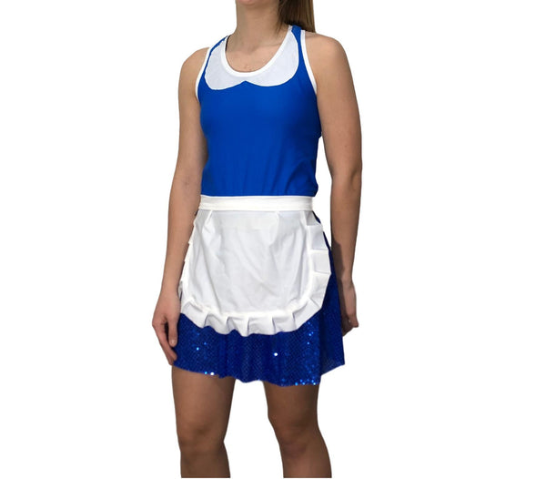 """Provincial Belle"" from Beauty and Beast Costume - Rock City Skirts"