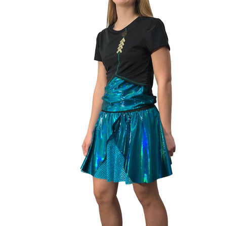 Limited Edition Little Sister Formal Running Costume (cape sold separately) - Rock City Skirts