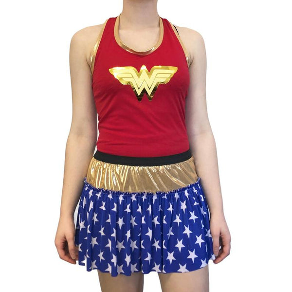 Wonder Woman Patriotic Inspired Shirt - Rock City Skirts
