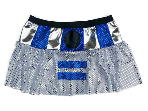 "Adult Droid ""R2D2 "" Inspired Skirt - Rock City Skirts"