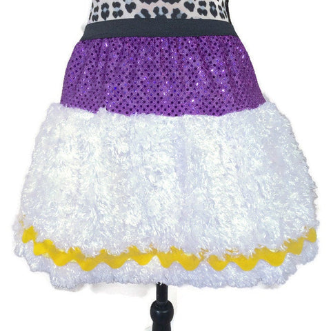 Daisy  Duck Inspired Running Skirt - Rock City Skirts