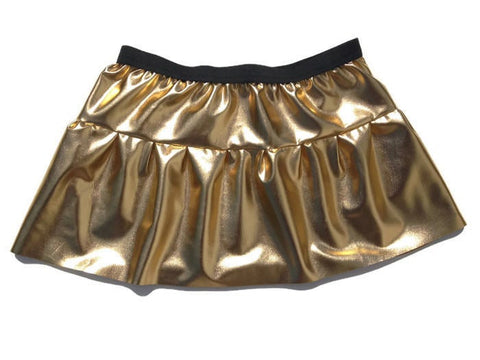 "Children's ""C3P0"" or Robot Inspired Skirt - Rock City Skirts"