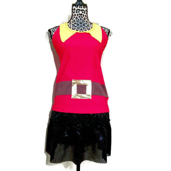 """Beauty and Beast"" Gaston Inspired Racerback - Rock City Skirts"