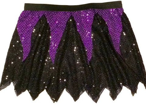 Children's Ursula/Maleficent Skirt - Rock City Skirts