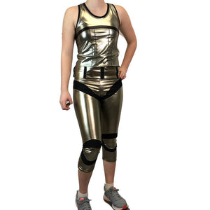 Captain Phasma Running Costume - Rock City Skirts