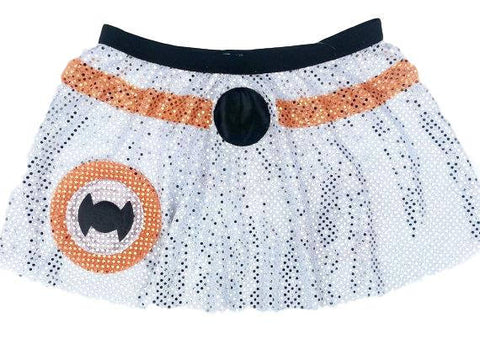 "Children's ""BB8 Droid"" Star Wars Inspired costume - Rock City Skirts"