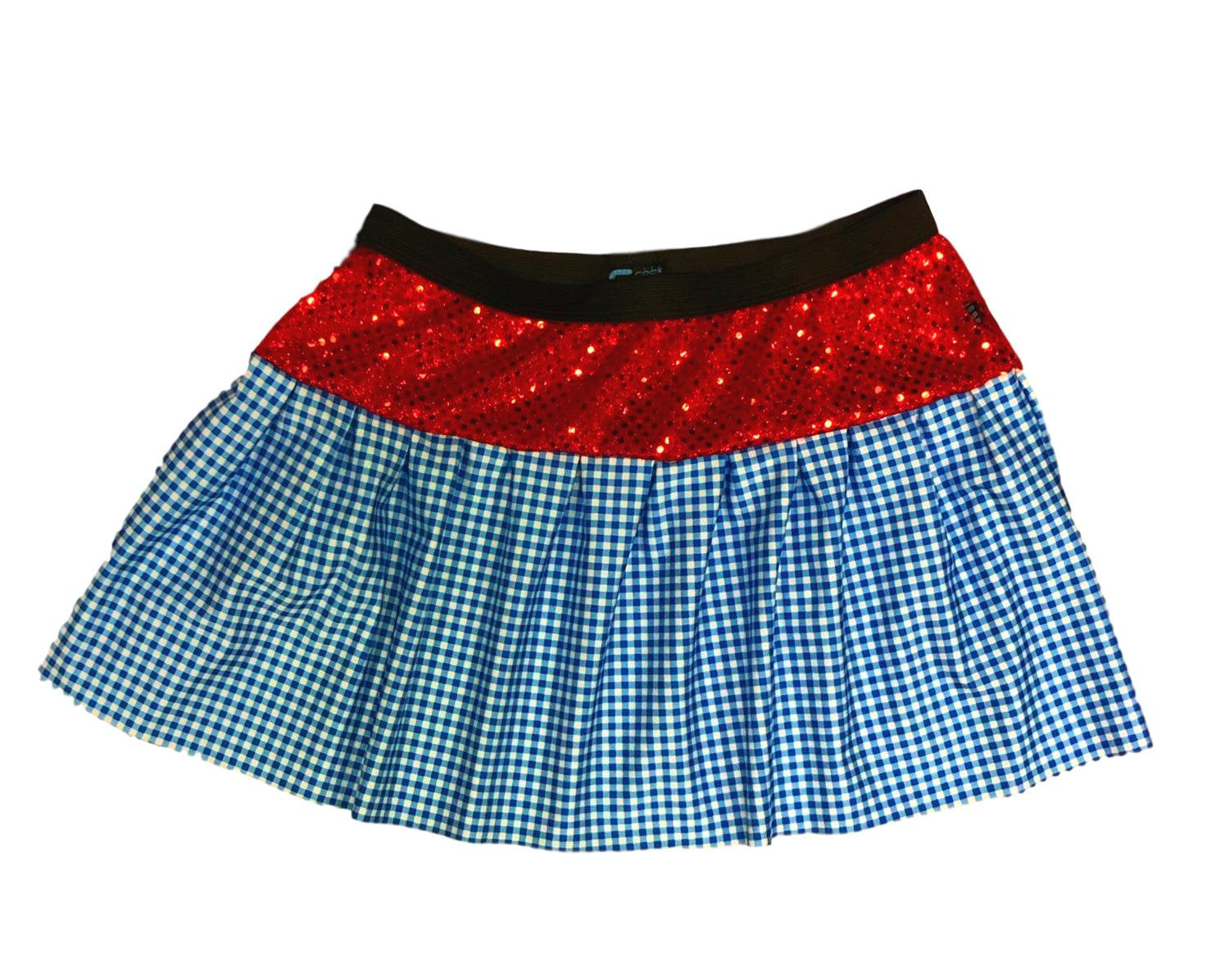 """Dorothy"" Wizard of Oz Inspired Skirt - Rock City Skirts"