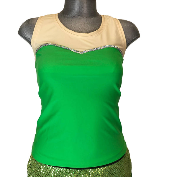 """Tinkerbell"" Inspired Woman's Running Shirt - Rock City Skirts"