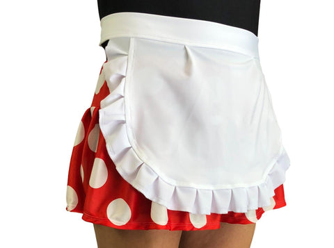 Mrs Mouse Skirt with Detachable Apron - Rock City Skirts