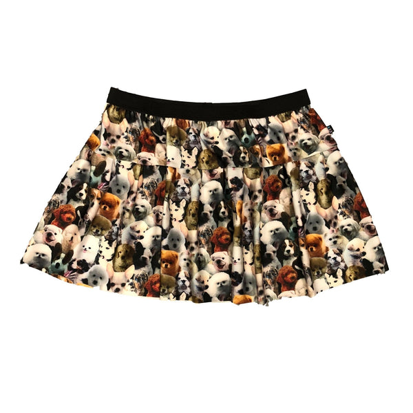 Dog Faces Athletic Skirt - Rock City Skirts