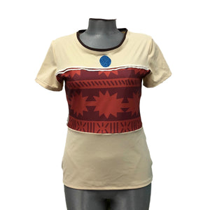 Polynesian Princess Inspired Running T-Shirt - Rock City Skirts