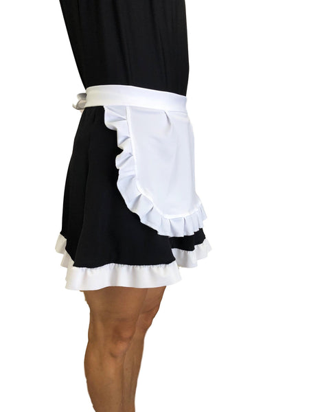 """Babette"" Featherduster Maid Skirt (with Optional Apron) - Rock City Skirts"