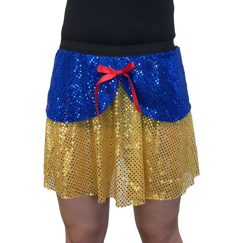 """Snow White"" Inspired Running Skirt - Rock City Skirts"