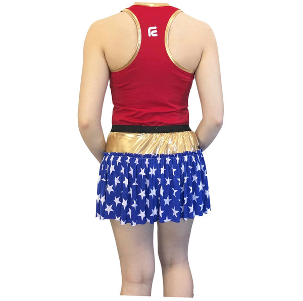 Wonder Woman Inspired Costume - Rock City Skirts