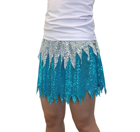 Snow Queen Inspired Sparkle Skirt - Rock City Skirts