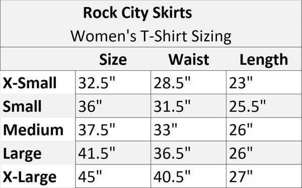 Judy Hopper Athletic Shirt - Rock City Skirts