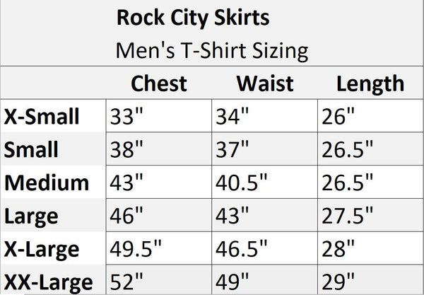 "Men's Athletic ""Donald Duck"" Shirt - Rock City Skirts"