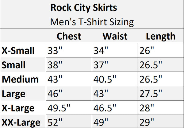 Men's Coconut face nspired Shirt - Rock City Skirts