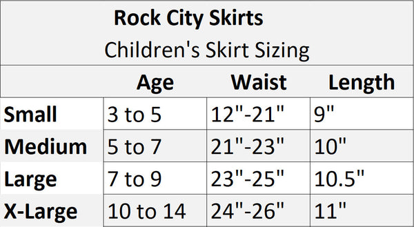 Custom Children's Rapunzel Inspired Running Costume - Rock City Skirts