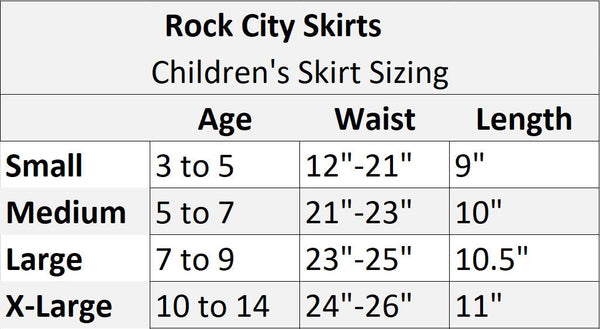"Children's ""Minnie Mouse"" Skirt (with Ears) - Rock City Skirts"
