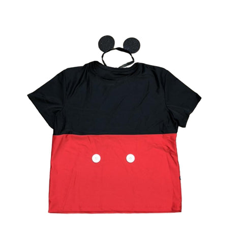 Men's Mr Mouse Inspired Running T-shirt - Rock City Skirts