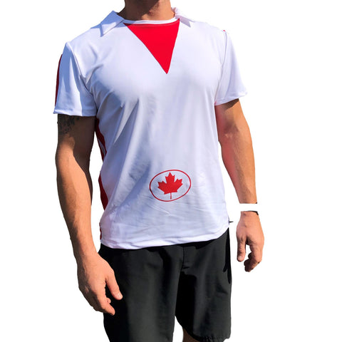 "Men's Toy Story ""Duke Caboom"" Inspired Athletic Shirt w/ Optional Cape - Rock City Skirts"