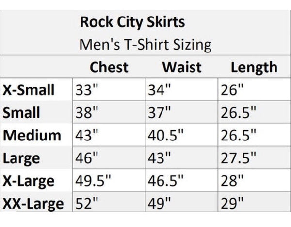 """Incredible"" Themed Men's Inspired Athletic Shirt - Rock City Skirts"