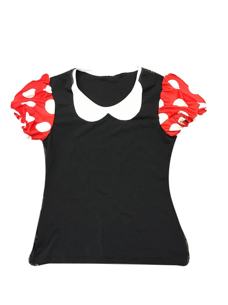 Minnie Mouse Running Shirt- Final Markdown - Rock City Skirts