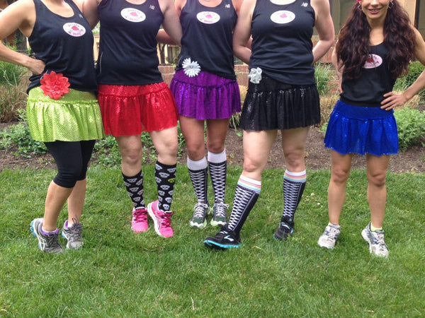 Sparkle Running Skirts - Rock City Skirts