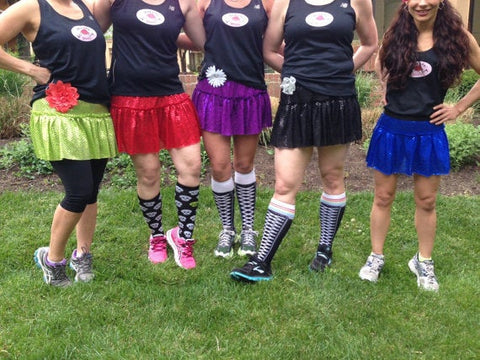 Children's running Sparkle Skirts - Rock City Skirts