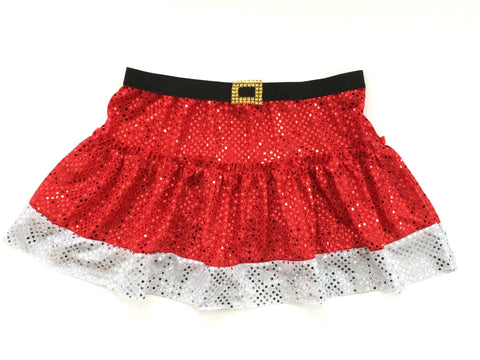 """Santa"" Running Skirt - Rock City Skirts"