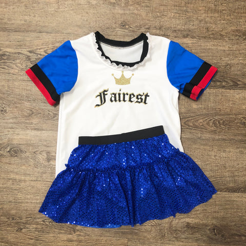 Decedents Evie inspired Running Shirt and Sparkle Running Shirt - Rock City Skirts