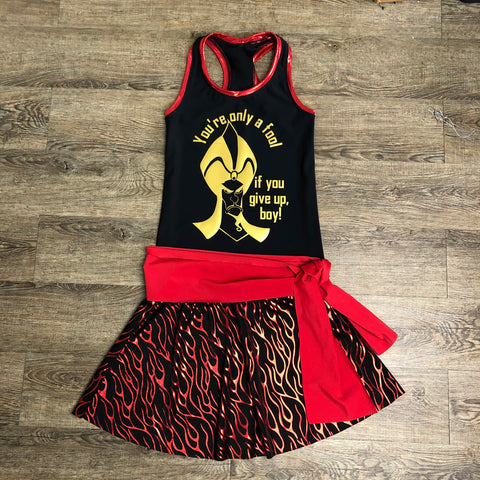 Jafar from Aladdin Villain Costume - Rock City Skirts